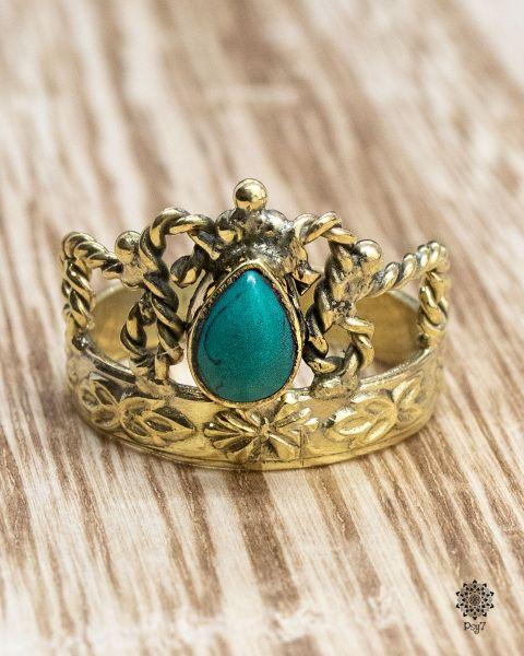 Ring Corona | Türkis