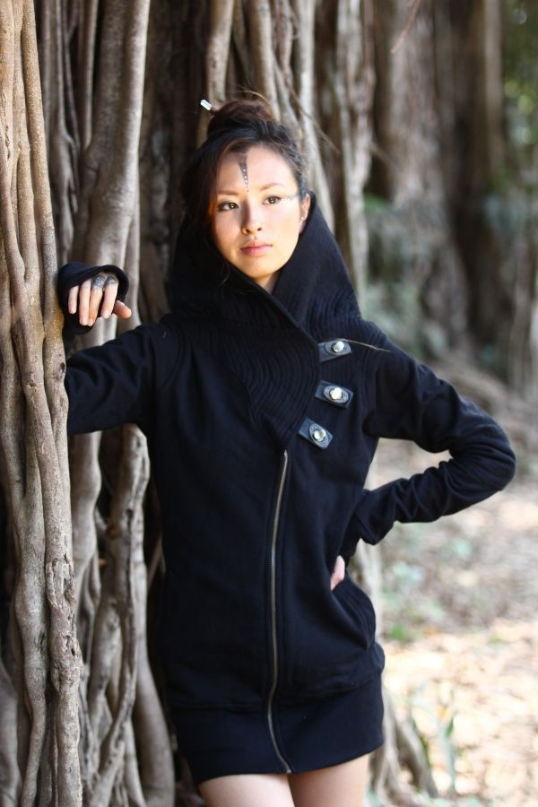 Tokyo Jacket | black - grey