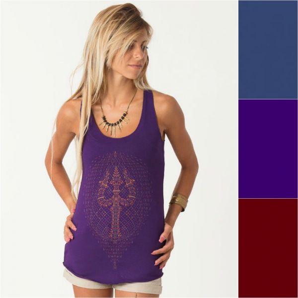 Top Trishula | blue | purple | wine