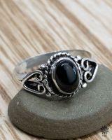 Ring Talia | Obsidian