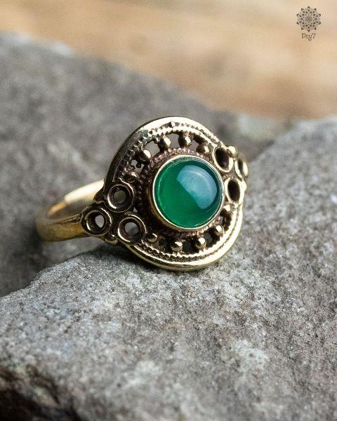 Ring Clivia | Glas