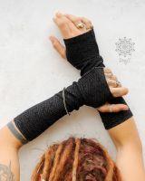 Armstulpen - Handstulpen | Sayagata schwarz