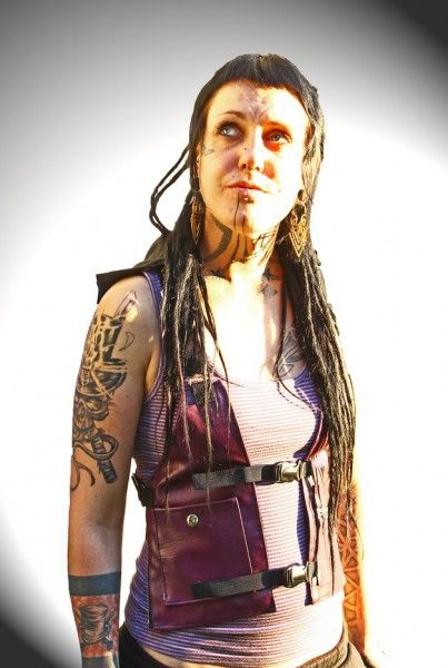 Holstertasche Hati Hati purple black Hood