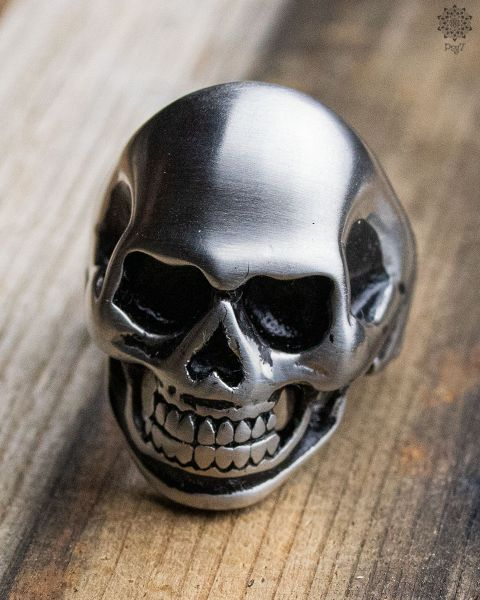 Ring Big Skull | Silver