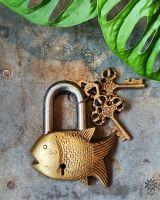 Vorhängeschloss | Fisch