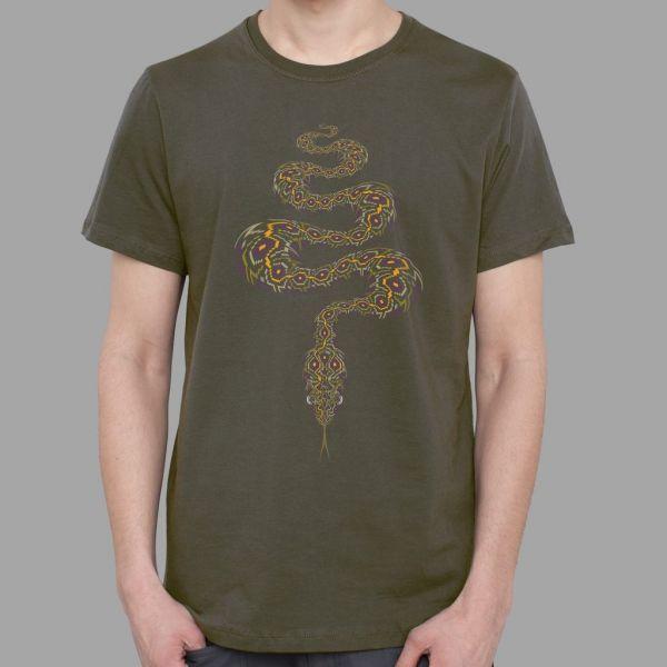 T-Shirt Anakonda olive | UV-aktiv