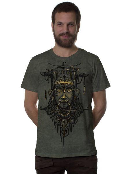 T-Shirt Goan | green army wash