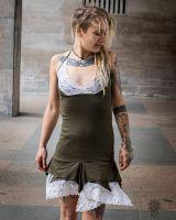 Neckholder Kleid | Pixie Lace | olive