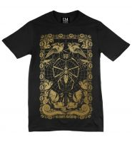 T-Shirt Flies | gold print