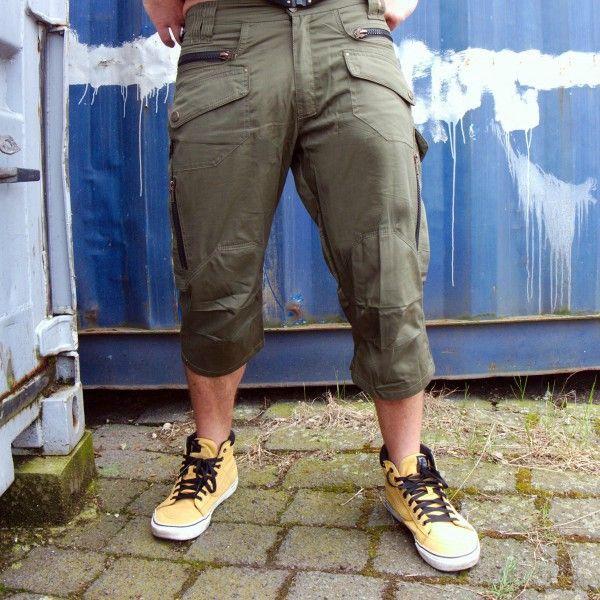 3/4 Shorts Sonkite olive