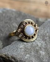 Ring Clivia | Mondstein