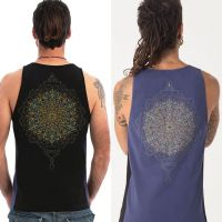 Tank Top Peyote | black blue