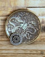 Räucherteller Drache | Bronze