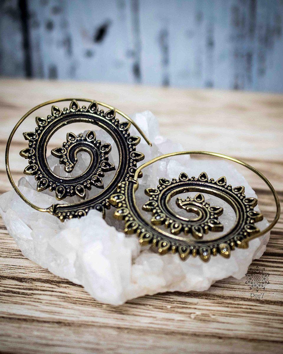 Ohrringe - Spirale #1
