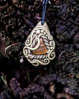 Amulett | Halskette - Tigerauge #2