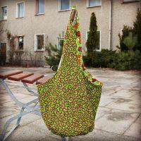 Umhängetasche | Jen's Sack Bag 2 in 1 | Spiral Leafs