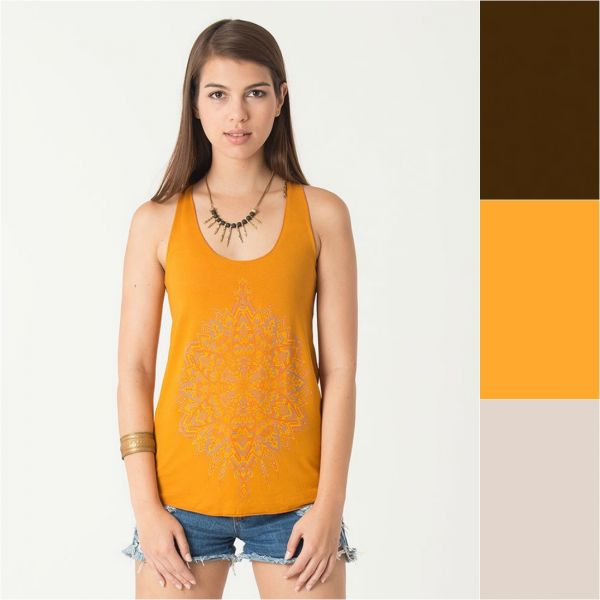Top Mexica | brown | mustard | sand