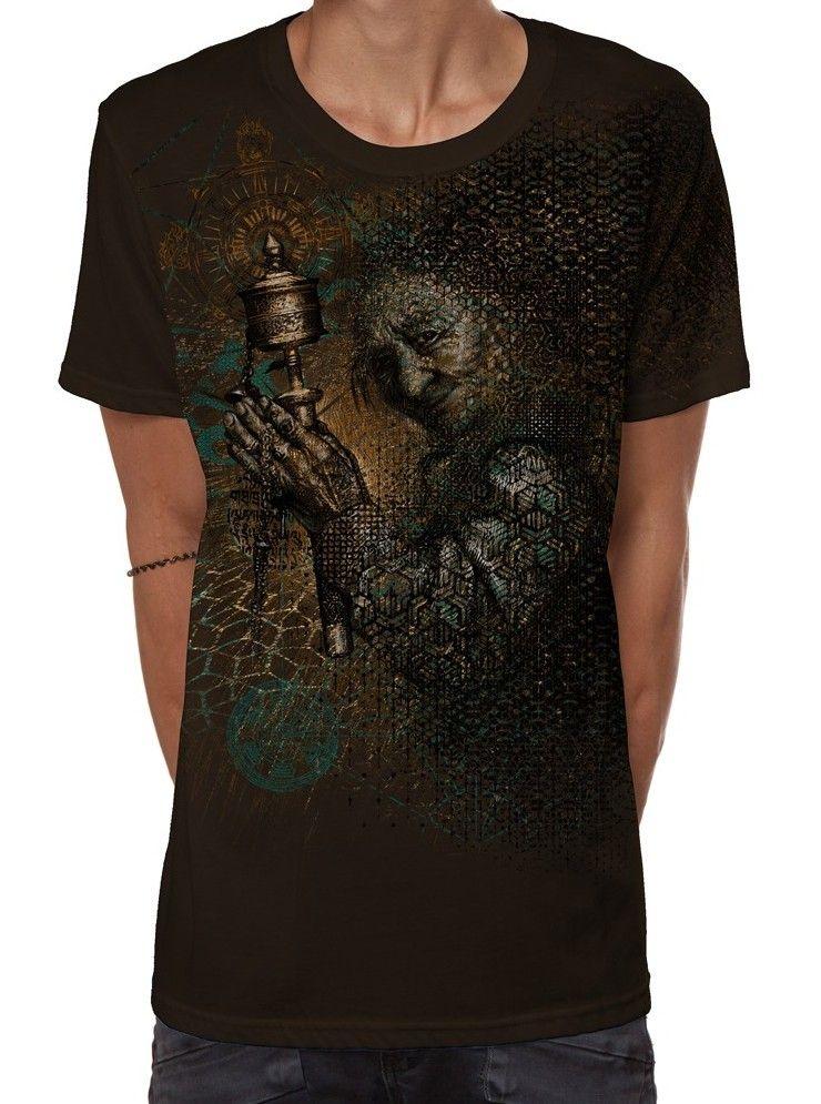 T-Shirt Guess What | dunkelbraun