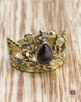 Ring Corona | Amethyst