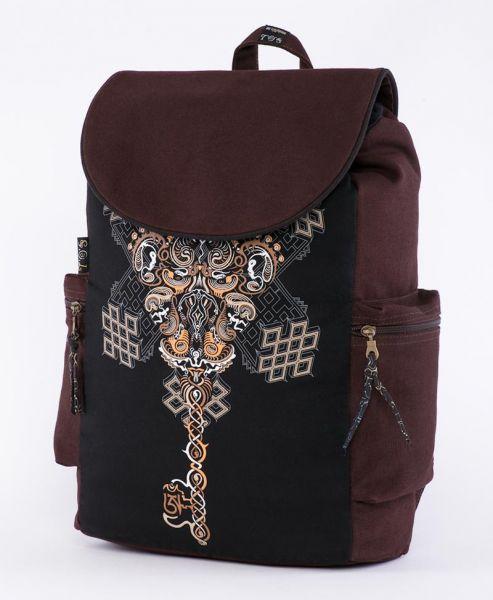 Rucksack | Flap Backpack | Om on Key