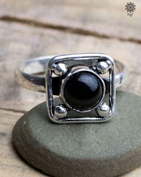 Ring Linus | Obsidian