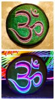 Patch - purple OM