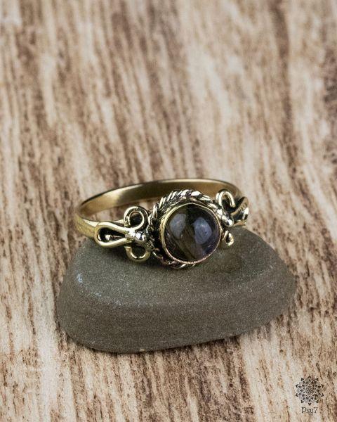 Ring Aleen | Labradorit