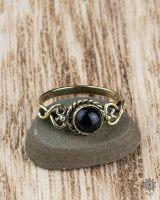 Ring Vika | schwarzer Achat