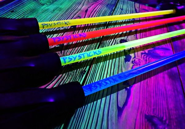 Psysticks - LED Flowerstick - UV aktiv