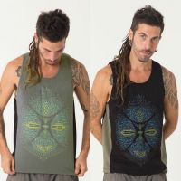 Tank Top Sikuli | black green
