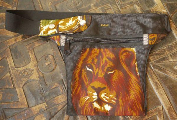Hip Bag - Black Fat Lion