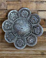 Räucherteller Glückssymbole | Silber