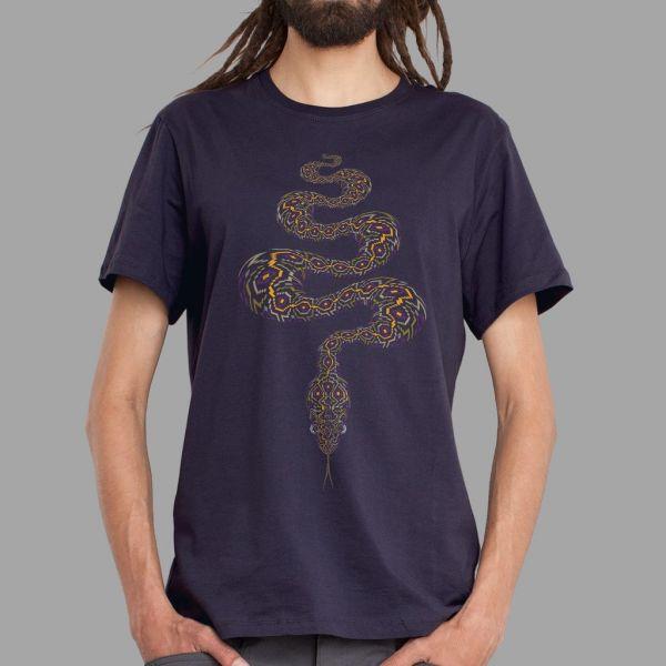 T-Shirt Anakonda purple | UV-aktiv