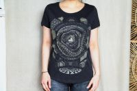 Girl -Shirt SUB-SPHERE | faded black