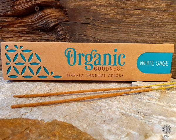 Räucherstäbchen   Organic - Weisser Salbei