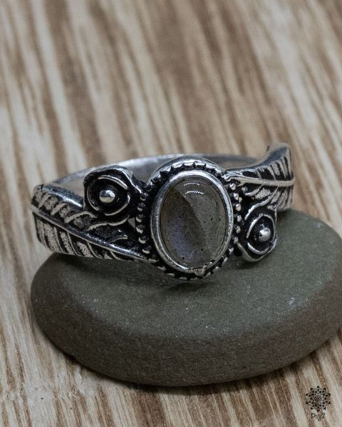 Ring Parna | Labradorit