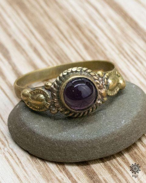 Ring Hazel | Amethyst