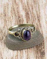 Ring Erin Oval | Amethyst
