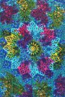 Wandtuch | Überwurf - Rainbow Mandala