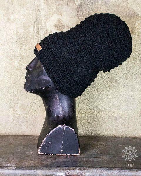 Mütze | Beanie | Nepal - schwarz