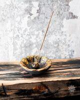 Räucherstäbchenhalter Lotus | Gold