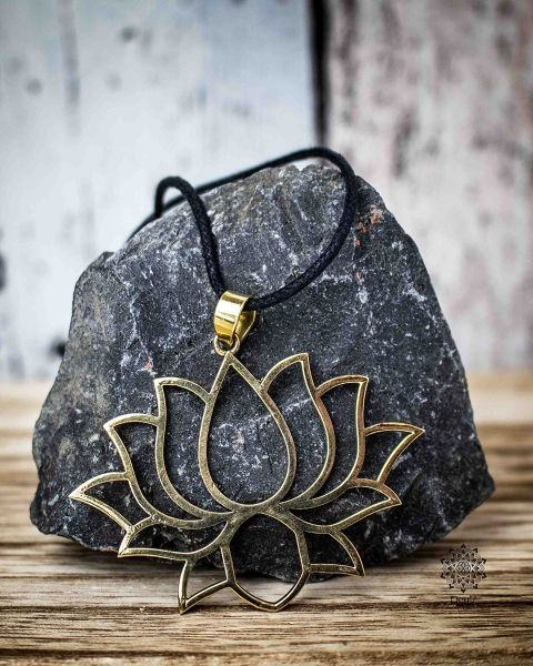 Anhänger | Halskette - Lotusblüte