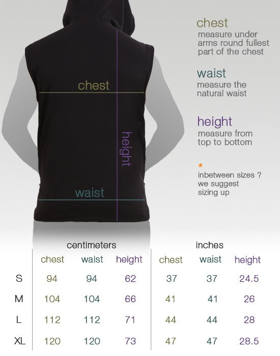 psy_t-shirt_man-microvest_sizes
