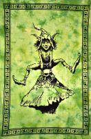 Wandtuch | Bettüberwurf Kobold grün