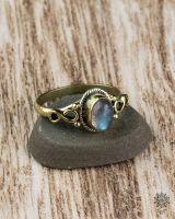 Ring Eila Oval | Labradorit