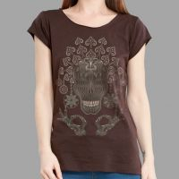 Girl Shirt Gugalta brown | UV-aktiv