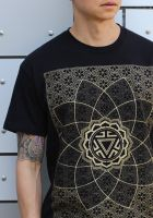 T-Shirt Vitality | schwarz - gold