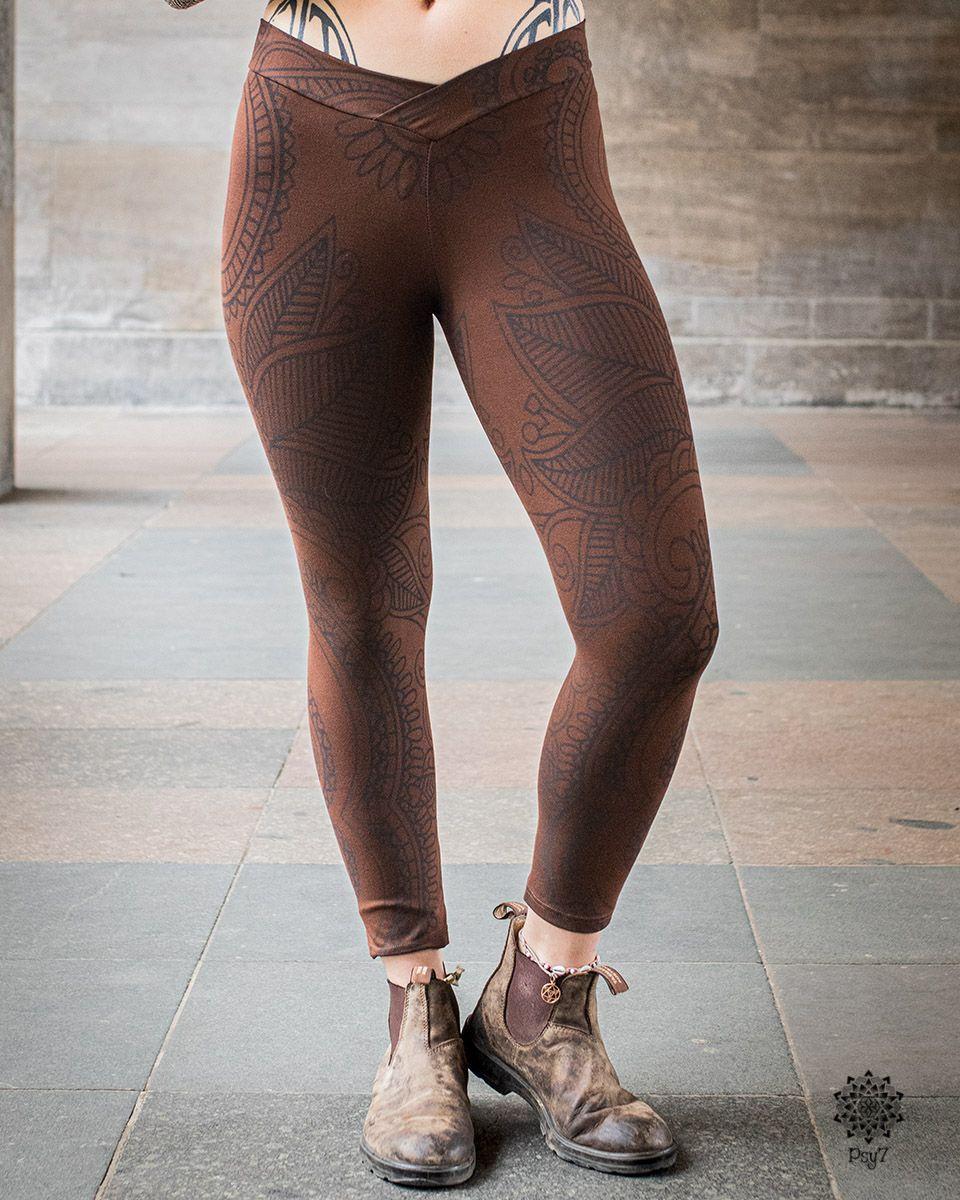 Leggings | Yoga Pants - braun