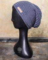 Mütze | Beanie | Nepal - graublau