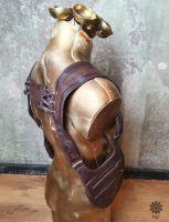 Schulterholster | braun